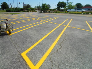 NEW LOOK ON PARKING LINES
