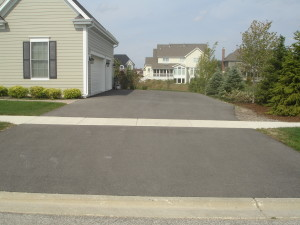 DRIVEWAY NOT SEALED FOR A YEAR