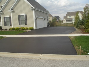 DRIVEWAY PROTECTED WITH HIGH GRADE SEALER