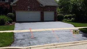 NOW YOU HAVE A NEW FIXED DRIVEWAY FOR A FRACTION OF THE COST.