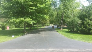 TAKING CARE OF THIS DRIVEWAY BEFORE SELLING THE HOUSE