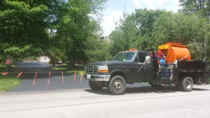 DRIVEWAY FINISHED. WE HAVE ALL THE SPECIALIZED   EQUIPMENT FOR ASPHALT CARE