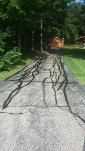 THIS DRIVEWAY IS NOT BEEN SEALED FOR SOME YEARS